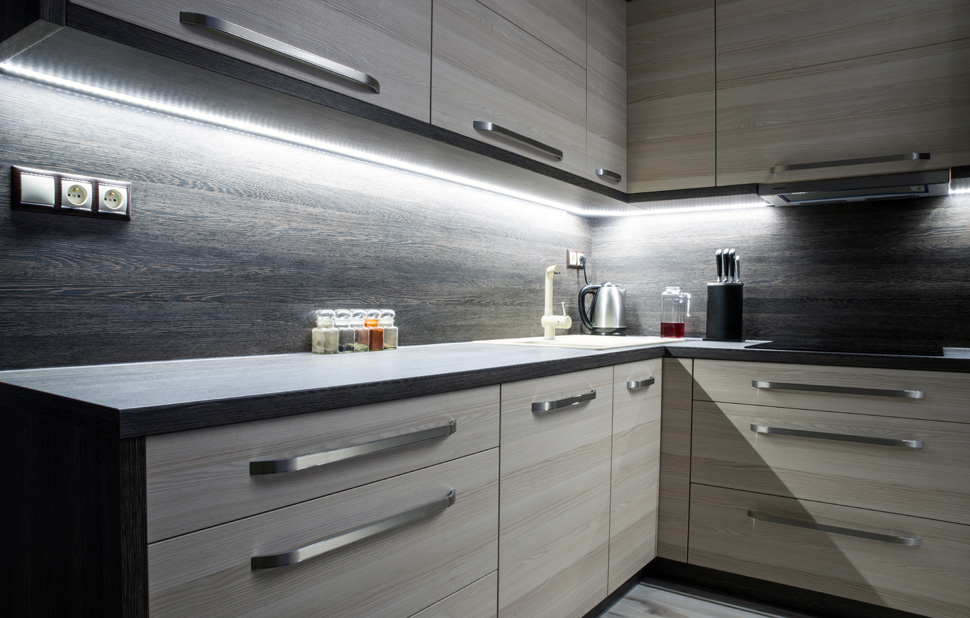 Toronto Dream Home Lighting Kitchen