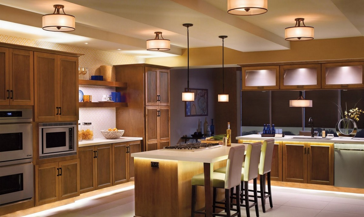 Kitchen Lighting - residential services-Hotwire Electric
